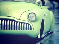 Кастом Lime Green Buick 1949 года
